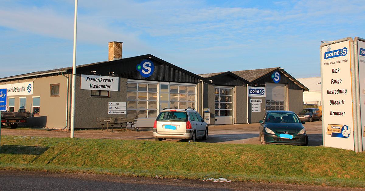 point S Frederiksvæk - dit lokale autoværksted og specialist i dæk og fælge