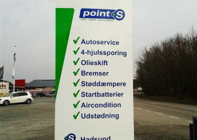 point-s-hadsund-skilt