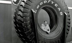 Verdens største dæk dengang