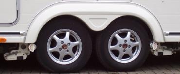 Husk også campingvognens dæk